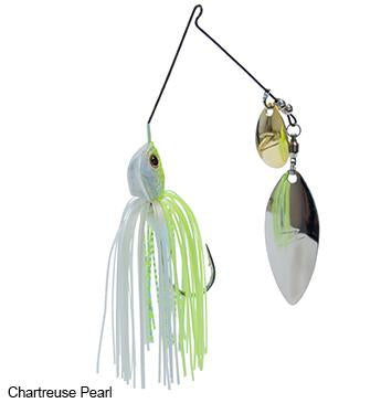 Z-Man Slingbladez Spinnerbait 1-2 Wil-Col Chart-Pearl