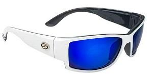 Strike King SK Plus Ouachita White-Black-Blue Mirror