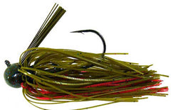 Strike King Tour Grade Football Jig 1-4oz Plum Crazy