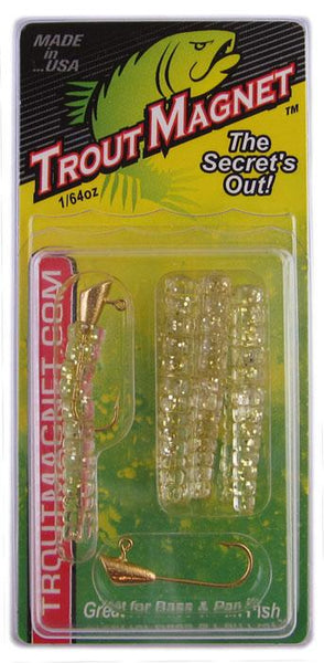 Leland Trout Magnet 1-64oz 9ct Gold Glitter