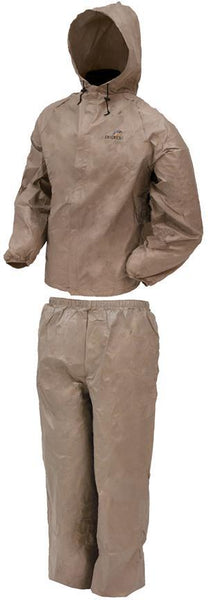 Frogg Toggs DriDucks Rainsuit-Khaki X-Large