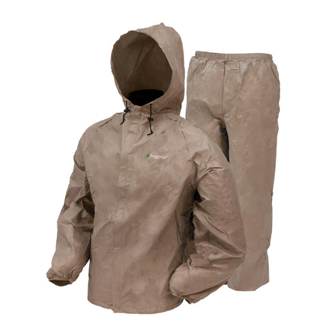 Frogg Toggs DriDucks Rainsuit-Khaki 2X-Large