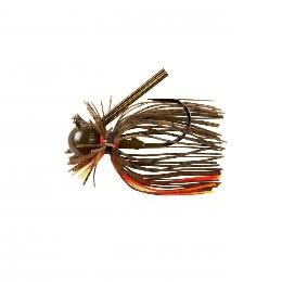 War Eagle Heavy Finesse Jig 1-2 Green Pumpkin Orange