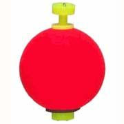 "Comal Snap-On Weighted Round Float 1.25"" 25-bag Red"
