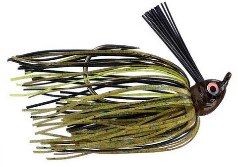 Strike King Wild Thang Jr 10ct Pumpkin Chartreuse