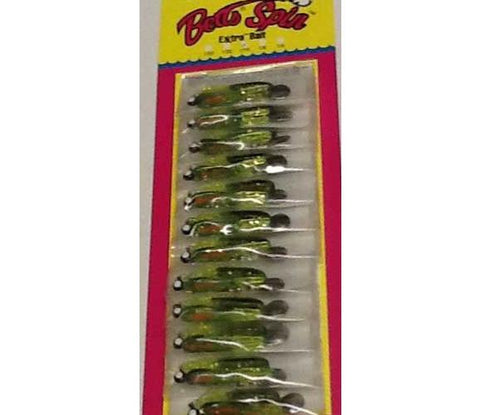 Betts Spin 1-8 Chartreuse Craw Glitter 12-cd