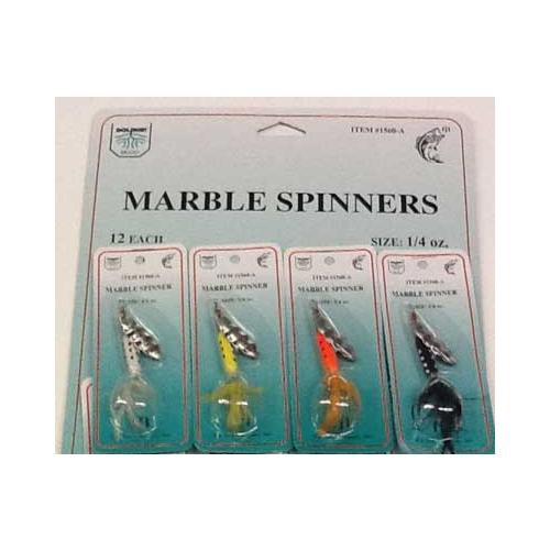 FJ Neil Marble Spinners 1-4oz Assortment
