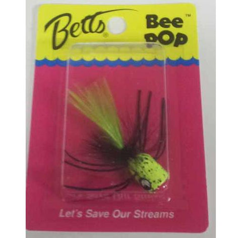 Betts Bee Pop Chart Speck-Bk-Cht Size 8