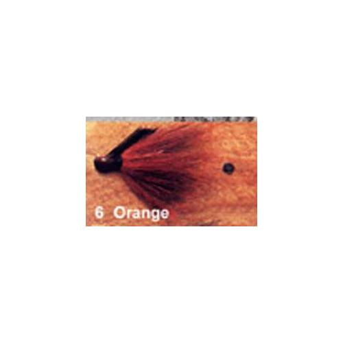 Arkie 1-8 Bucktail 6-cd Crawfish Orange