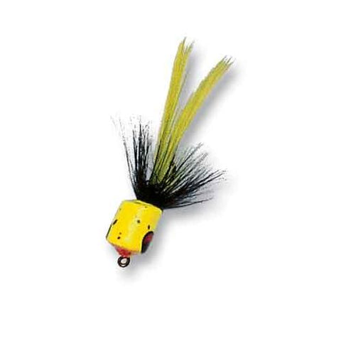 Betts Fat Gnat Yellow-Black Size 10