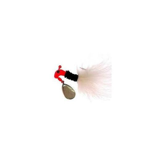 Blakemore Road Runner Maribou 1-4 Red-Black-White