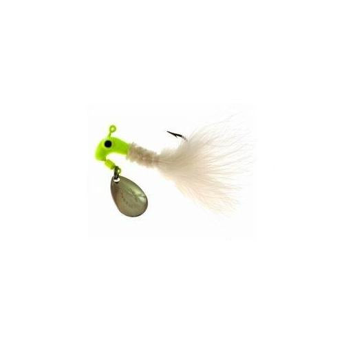 Blakemore Road Runner Maribou 1-4 Chartreuse-White 12-cd