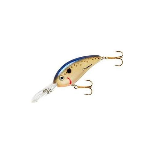 Bomber Fat Free Shad Jr 1-2 Speckled Perch