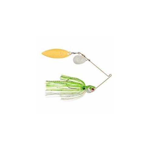 Booyah Covert 1-2oz Chart-White G-N-Willow Tandem