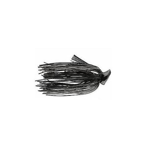 Buckeye Flat Top Finesse Jig 1-2oz Black