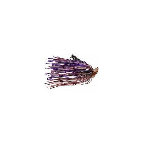 Buckeye Flat Top Finesse Jig 1-4oz Cinnamon Purple