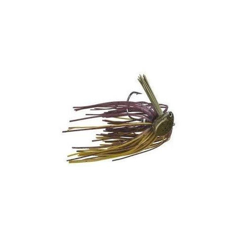 Buckeye Flat Top Finesse Jig 3-8oz Green Pumpkin