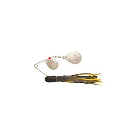H&H Double Spinner 3-8 (6cd) Black-Yellow - Fishing Supply Pro