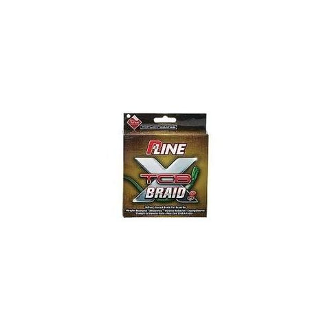 P-Line TCB Braid Line 150yd Green 30lb