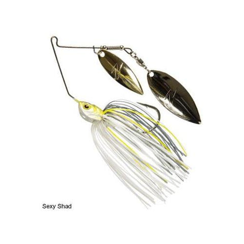 Z-Man Power Finesse Slingbladez Spinnerbait 3-8 Wil-Wil Sexy Shad