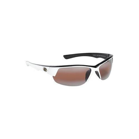 Strike King Sunglass S11 Gulf White-Black Amber Lens