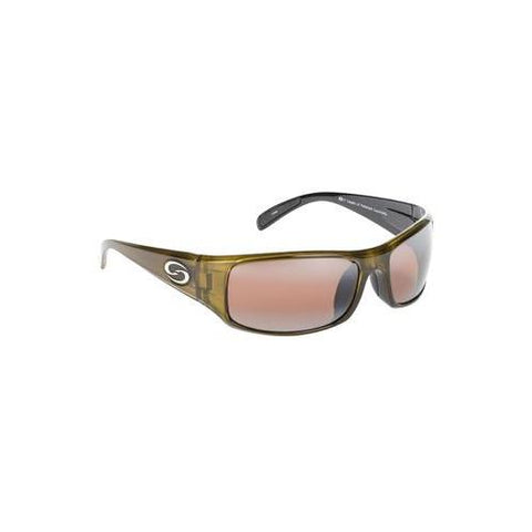 Strike King Sunglass S11 Okeechobee Clear Gold Met-Amber Lens