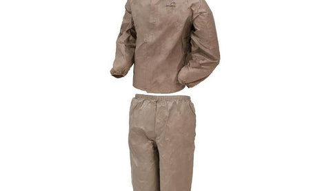 Frogg Toggs DriDucks Rainsuit-Khaki Large