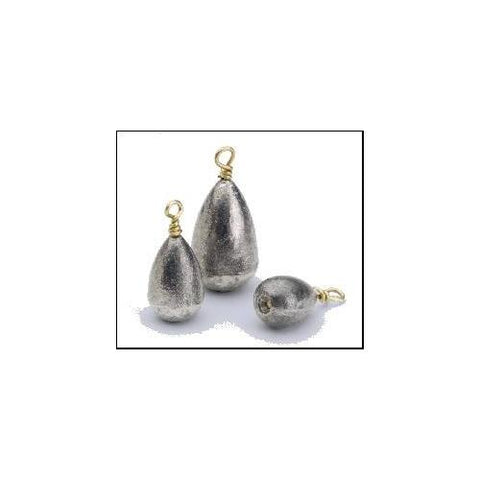 Bullet Weight Bass Casting Sinker Value Pack Bag 4ct 3-8oz