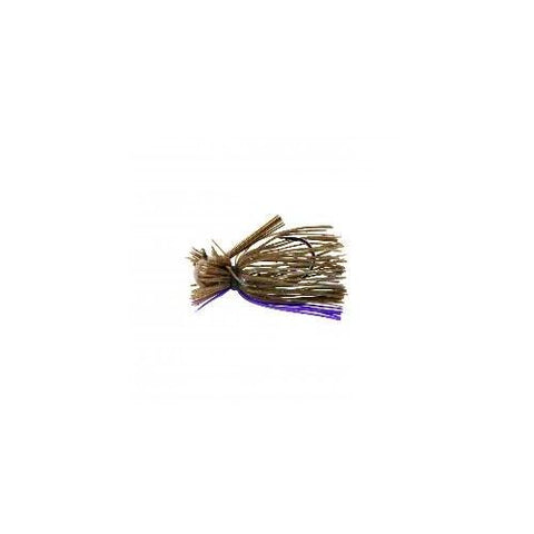War Eagle Heavy Finesse Jig 1-2 Green Pumpkin Candy