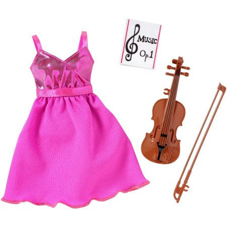 Barbie Career Musician Fashion Pack