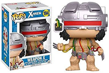X-Men Funko POP! Marvel Weapon X Exclusive Vinyl #194