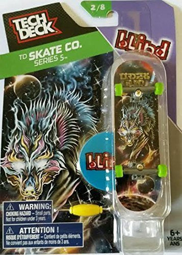 Tech Deck TD Skate Co. Series 5 Blind T.J. Rogers Skateboard with Display Stand 2/8