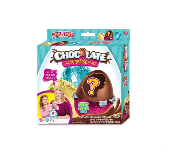 Chocolate Egg Surprise Maker Refill Pack
