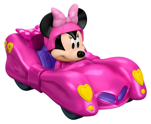 Fisher-Price Disney Mickey and the Roadster Racers - Minnie's Pink Thunder Playset