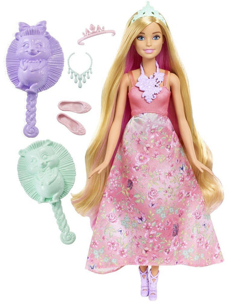 Barbie Dreamtopia Color Stylin' Princess Doll, Pink