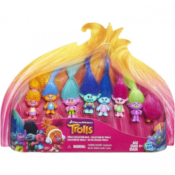 Trolls Collection Pack (8 Mini Trolls), 1.25 Inches
