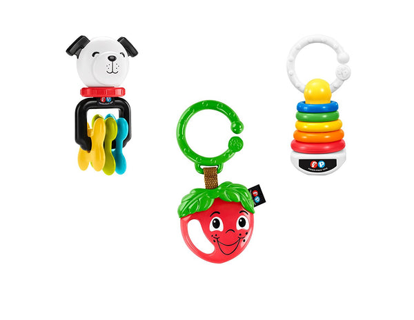 Fisher-Price Clacker Teether Trio