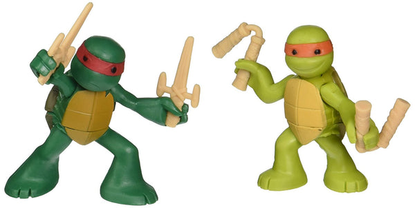 Teenage Mutant Ninja Turtles, Ninjas in Training Michaelangelo and Raphael Action Figures