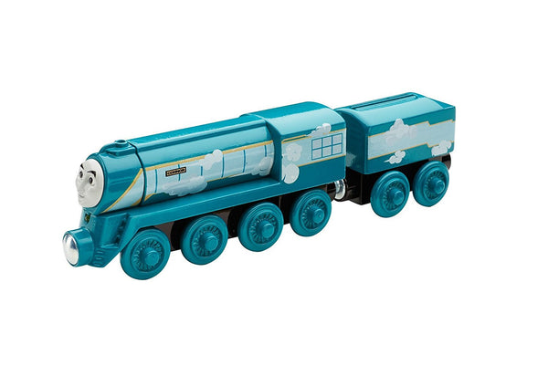 Fisher-Price Thomas & Friends Wooden Railway, Roll & Whistle Connor - Battery Operated