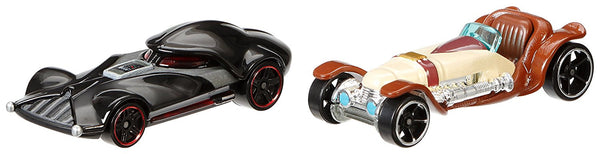 Hot Wheels Star Wars Obi-Wan Kenobi vs. Darth Vader Character Car 2-Pack
