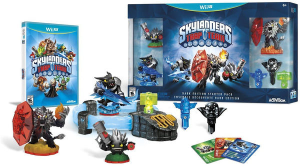 Skylanders Trap Team Dark Edition Starter Pack - Wii U