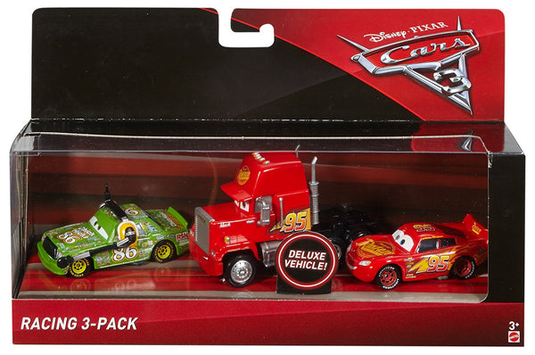 Disney Pixar Cars 3 Racing 3-Pack Die-Cast Vehicles