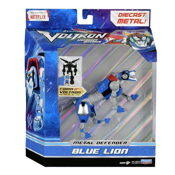 Voltron Blue Lion Die Cast Figure Action