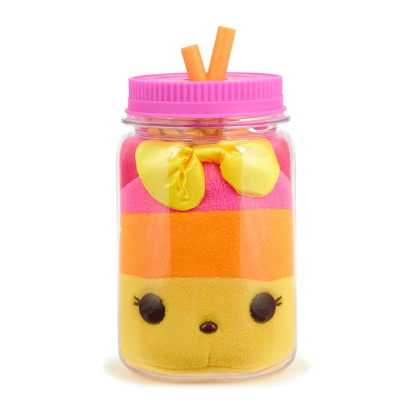 Num Noms Surprise in a Jar - TROPI-CALI POP - Soft Plush Version of Your Favorite Num Noms Characters are so Sweet and Huggable