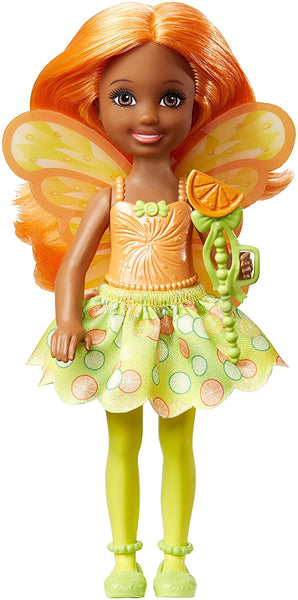 Barbie Dreamtopia Small Fairy Doll Citrus Theme Doll