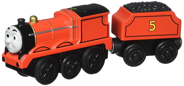 Fisher-Price Thomas & Friends Wooden Railway, James - Battery Operated