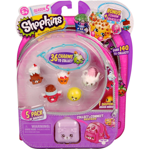 Shopkins Season 5, 5 Pack
