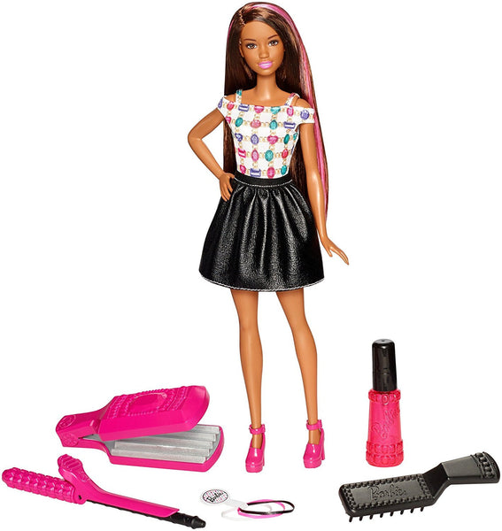 Barbie D.I.Y. Crimps & Curls Doll African American