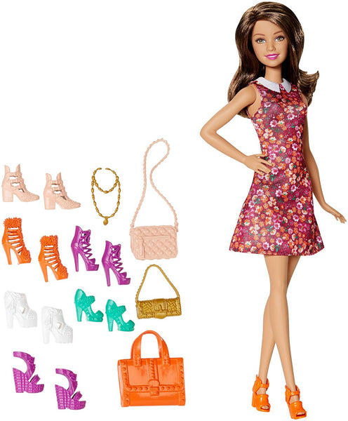 Barbie Teresa Doll with Shoes and Accessories