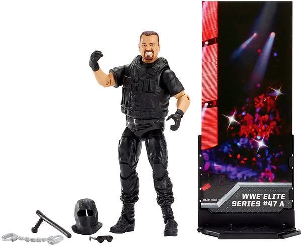 WWE Elite Collection Big Boss Man Series 47 A Figure